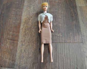 Vintage Barbie Clothes - Light Brown Should Cover Jacket