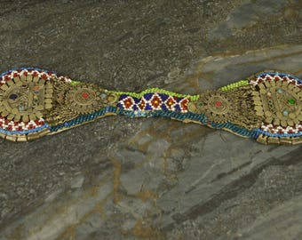 A Fine Afghanistan Nomad Recycled Head Ornament