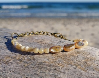 Abalone & Mother of Pearl bracelet