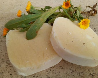 natural soap to Calendula for delicate skins