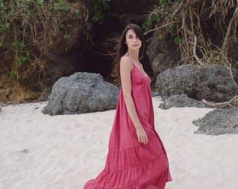 Mohini organic linen dress