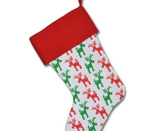 Reindeer Games Stocking