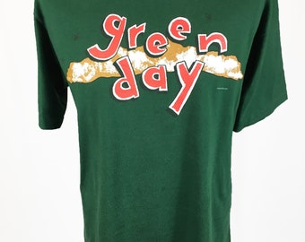 Vintage Retro 90s Greenday 1995 'Dookie' Band T-Shirt