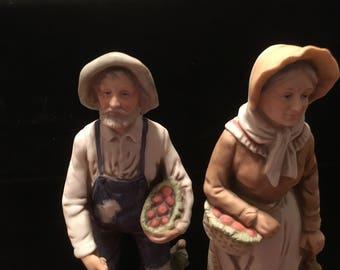 vintage home interior figurines etsy
