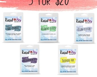 5 for 20 - Wax Melts - Wax Cubes - Candles - Wax Melts - Wax Tarts - Soy Wax Melts - Pick Your Own - Home Fragrance - Wax Melt Bundle - Wax