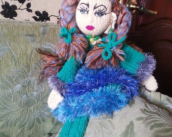 Fairy of the Woods - Handmade Decore Doll