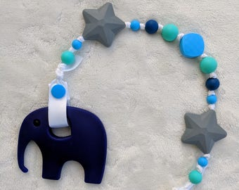 Silicone Teething Pacifier Clip - Pacifier Clip - Baby Gift - Baby Shower
