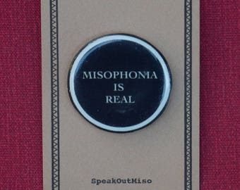 Misophonia Is Real Pin