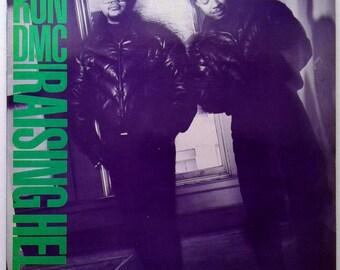 Run DMC - Raising Hell, Vinyl Record (1986), Greek Press