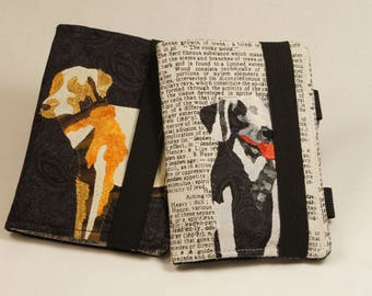 Labrador Dog Wallet and Notebook Cover