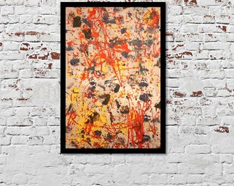 Original Framed Art Print by Nick CONNER collection 1B