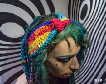 Blocks primary colour headband