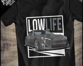 Toyota GT86 U201eLow Lifeu201c Shirt