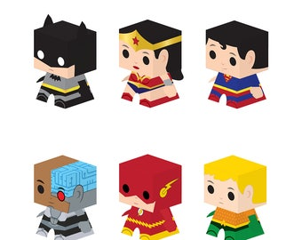 Justice League CUBBY