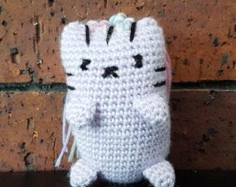 Mini Crochet Kitty - Funky