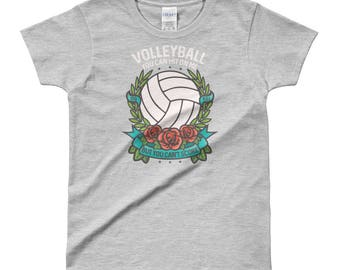 Can't Score On Me - I Love Volleyball Ladies' T-shirt