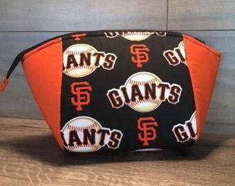 Cotton Candy Pouch, Makeup Bag, San Francisco Giants, Pencil Pouch