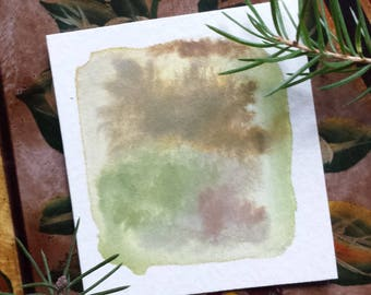 Nature's Beauty *ORIGINAL* Abstract Watercolour Painting