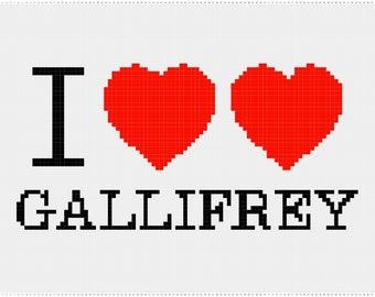I <3 Gallifrey