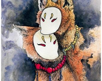 Kitsune Fox Spirits
