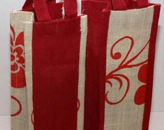 Wine Bags Jute Burlap Bag