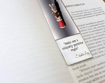 Photographic Printable Bookmark, Custom Bookmark, Personalized Bookmark, Bookmark Design
