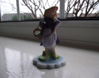 vintage Disney Aurora Sleeping Beauty miniature figurine