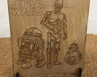Droid Art Stand
