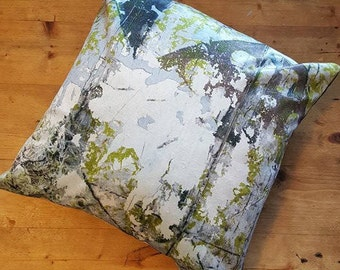 AbandonedTextues 'Distressed Tile' Cushion Cover, Luxury, Decorative, Independent.