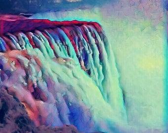 "Niagara Falls - 14"" x 11"" Canvas"