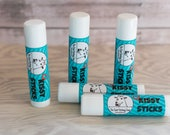 Lip Balm, Handmade, All Natural, Kissy Sticks, The Goat Fetching Soap
