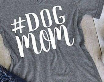 Hashtag Dog Mom T-Shirt
