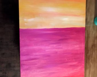 Acrylic Block Painting