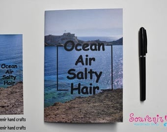 A5 Softcover Notebook (ocean)