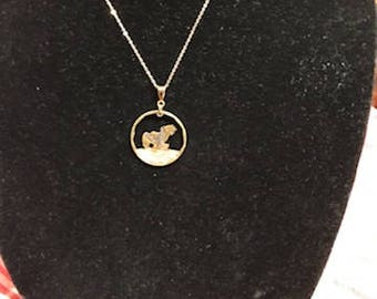 Susan B. Anthony Dollar Coin Necklace
