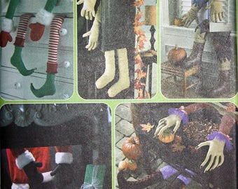 Holiday Characters Arms and Legs Pattern - Simplicity 3642
