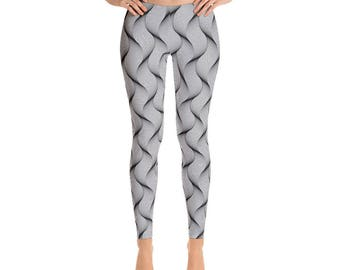 Women's  Spiral-Leggings,Beautiful Pattern leggings, full printed, Printful, USA,Made for you, Modern,Trendy Design store,