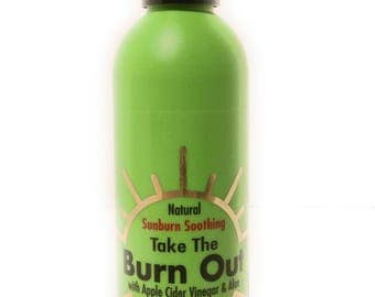 Take The Burn Out made with Apple Cider Vinegar and Aloe