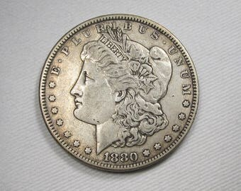 1880 P Morgan Dollar CH VF PLUS Coin