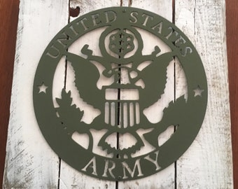 United States Army Seal Sign