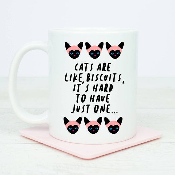 Cats, cats, cats, we love cats, crazy cat lady, cat mug for cat lovers, coffee mug with funny cat quote, great gift, birthday, cats are cute