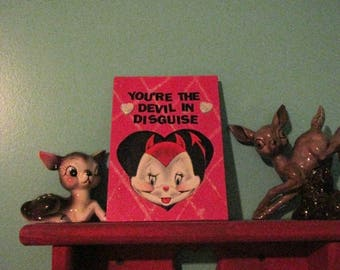 The Devil In Disguise Valentine {Original Collage}