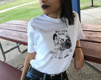 Not Your Rival WHITE T-SHIRT