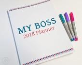 2018 Planner - My Boss Pl...
