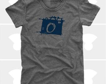 Sketch Camera - Women's Shirt