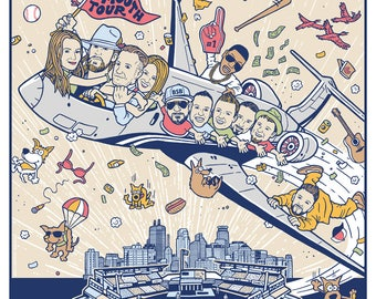 Florida Georgia Line Backstreet Boys Nelly Chris Lane Smooth Tour Nationals Park MN Poster 2017 by GIGART