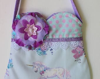 Princess Unicorn  Purse, girls purse, toddler purse