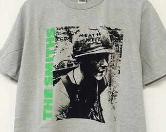 The Smiths Meat Is Murder T-Shirt Grey