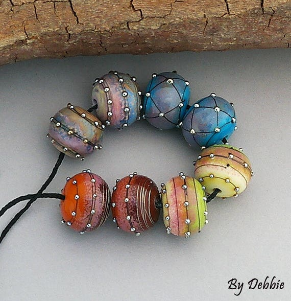 DSGBeads~Debbie Sanders Artisan Handmade Organic Lampwork Glass Beads