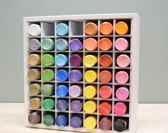 Craft Paint Organizer (fits IKEA Kallax- holds 49)